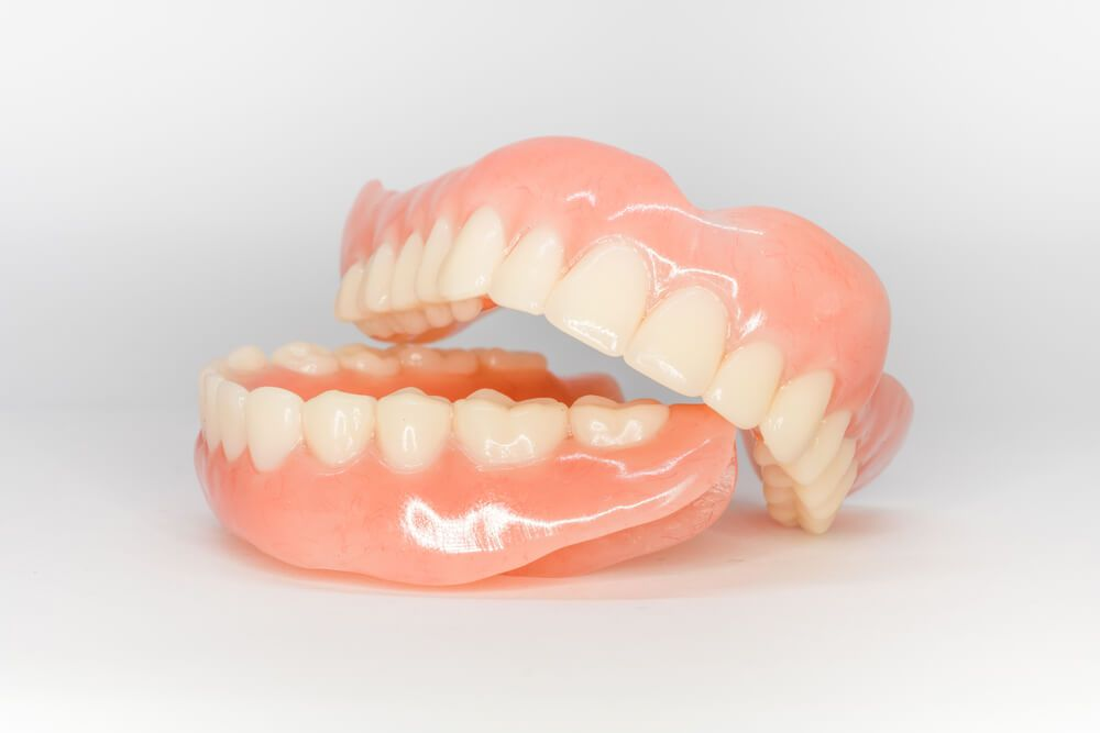 fixed dentures model