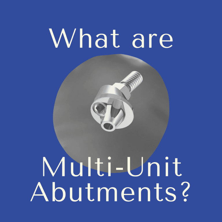 What are multi-unit abutments